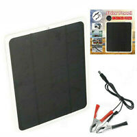 20W 12V Outdoor Car Boat Yacht Solar Panel Trickle Battery Charger Power Supply