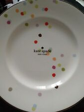 Kate Spade New York Market Street Accent Plate  NWT 9.3 in