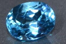 Oval Blue Loose Topazes