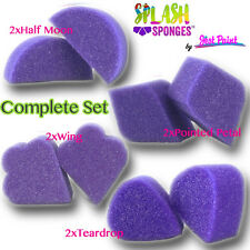 Splash Face Painting Sponges by Jest Paint - 8 Sponges