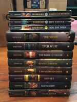 Lot of 11 Warriors Erin Hunter Power of Three New Prophecy 8 Hardcover 3 Soft