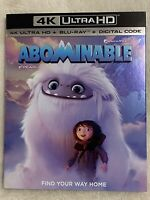 ABOMINABLE (2019) - 4K Ultra HD UHD disc only (No Blu-ray or Digital Copy)