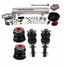 VW Golf MK4 R32 Air Lift Manual Air Ride Management + Slam Series Kit 6″ Drop