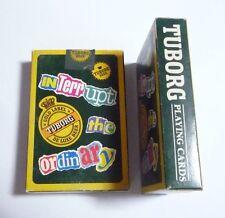 Malaysia Playing Cards Tuborg Beer Interrupt The Ordinary Carlsberg 1995 Rare