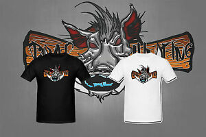 T-shirt HOMME BOARD 3D CHASSE