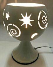 Electric Metal Fragrance Lamp/Oil Burner/Wax Warmer/Night Light #1855