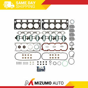 Head Gasket Set Fit 02-14 Chevrolet Buick GMC Cadillac 4.8 & 5.3 V8 OHV C M