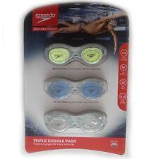 Speedo Adult Swim Goggles Triple Pack