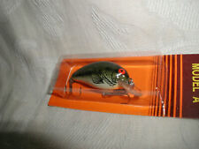 Vintage Bomber Black Bass Lure;Model A 2A Baby Bass Shallow;New in Box-Old Stock