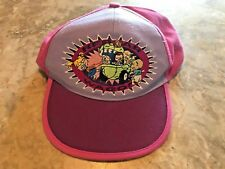 Vintage 1998 The Rugrats Movie Reptar Wagon Adjustable SnapBack Hat Kids Size!