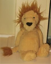 Jellycat Lion Stuffed Animal Toy 12 Inches Tall ~ Excellent Used Condition!