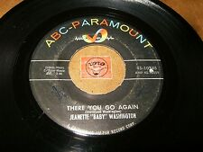 """JEANETTE """"BABY"""" WASHINGTON - THERE YOU GO AGAIN - DON'T CRY   - LISTEN - R&B"""