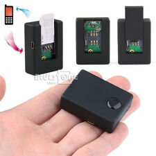 Mini GSM Sim Card Spy Ear Bug Monitor Quad-band Two-Way Auto Answer Dial Audio