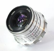 Industar-26m 2.8/50mm lens M39 LTM FED Zorki Leica 35mm RF camera NEX