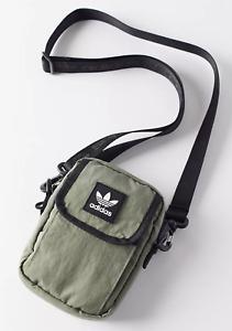 Adidas Originals Trefoil National Festival Crossbody Bag -green - NWT