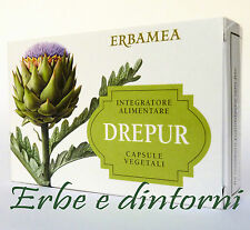 DREPUR  24 Capsule   Carciofo, Curcuma, Cardo mariano, depurativo, fegato