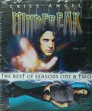 CRISS ANGEL MINDFREAK BEST of SEASONS 1 & 2 Levitation Burned Alive SEALED DVD