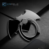 For iPhone X 8 Plus Universal 360° Metal Batman Finger Grip Ring Stand Holder