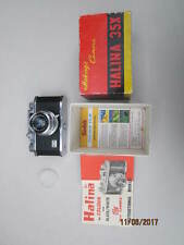 HALINA 35X VINTAGE CAMERA BOXED
