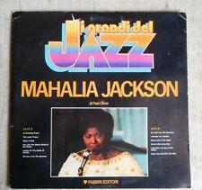 Mahalia Jackson –  Etichetta: Fabbri Editori – GdJ 30 - LP