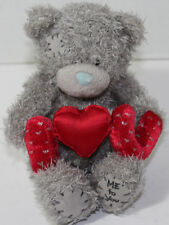 "Carte Blanche ME TO YOU GRAY BEAR ""I HEART U"" Stuffed Plush VALENTINES TOY"