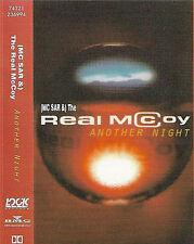(MC SAR &) The Real McCoy Another Night CASSETTE SINGLE Eurodance, Tech House