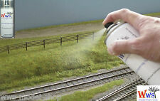 WWS Static Grass Glue / Layering Spray - Railway, Scenery & Terrain. Dioramas.
