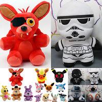 Star Wars FNAF POKEMON farcies jouets peluche douce poupées ourson