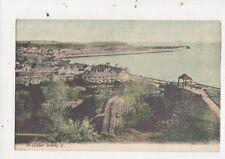 St Helier Looking East Jersey Vintage JWS Postcard 741a