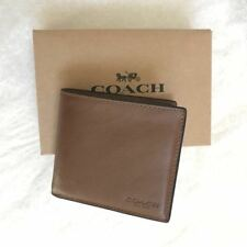 New Coach Men Saddle Leather Wallet F75084