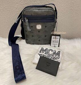NEW MCM Mini Visetos Crossbody Bag