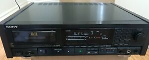 Sony DAT Recorder DTC-M100 with Remote in great condition just refurbished