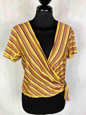 Byblos Vintage '70 T-Shirt Women's Sweater Cotton Optical Woman Sz.M - 44