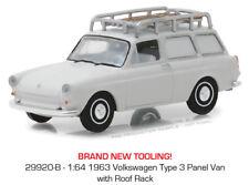 Greenlight Volkswagen Type 3 Panel Van with Roof Rack 1963 29920 1/64