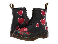 Women's Shoes Dr. Martens 1460 PASCAL SEQUIN HEARTS Boots 24406001 BLACK