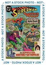 Superman & Wonder Woman Radio Shack Comic Computer Masters DC 1982 TRS-80 6.5 FN