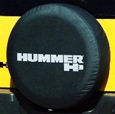 17inch Spare Tire Cover HUMMER H3 Silver Logo Heavy Duty Vinyl Tire Covers New