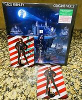 Ace Frehley Kiss Sealed Origins Christmas Colored Vinyl With Signed Card
