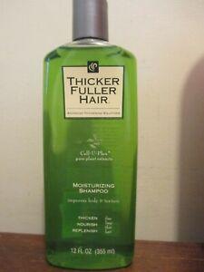 RARE* Thicker Fuller Hair Moisturizing Shampoo - 12 Ounce