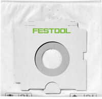 Festool Self-Clean Filter Bag SC-FIS-CT SYS 500438 Filter Bag for CT-SYS 5pk
