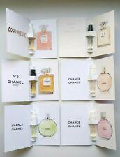 New Set Chanel COCO MADEMOISELLE CHANCE TENDRE FRAICHE VIVE N5 L'Eau (6X1.5ml)