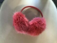 Ohrenwärmer Ohrenschützer Plüsch kuschelig rosa TOP