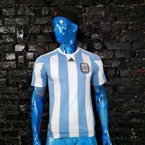 Argentina Team Jersey Home football shirt 2010 - 2011 Adidas P47066 Mens Size S