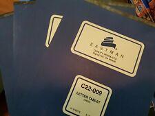 Vtg Eastman C22 009 Letter Tablet Green 50 Sheets New 85 X 11 07083 4 Total