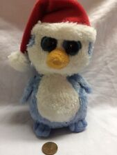 "49d7e9046d6 Ty Beanie Boo Fairbanks 6"" Lot Blue Penguin"