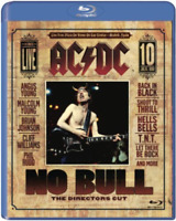 AC/DC NO BULL Blu Ray The Director's Cut Live From Plaza De Toros Madrid Spain