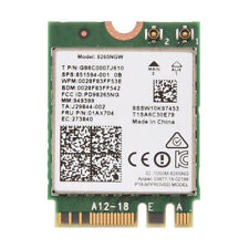 Dual Band Wireless AC 8265NGW 867Mbps WIFI + Bluetooth 4.2 NGFF Card For Intel