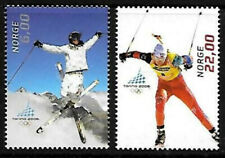 Norway 2006 Winter Olympics, Torino, Skiers, Mnh/Unm