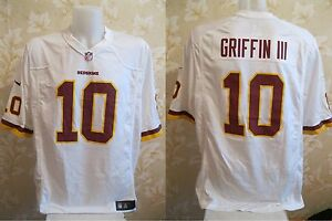 Washington Redskins #10 Robert Griffin III Size XL Nike football jersey shirt