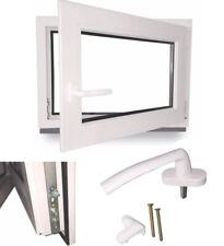 Kellerfenster Garagenfenster Kunststofffenster 2 Fach Dreh Kipp 100x80 DIN L R